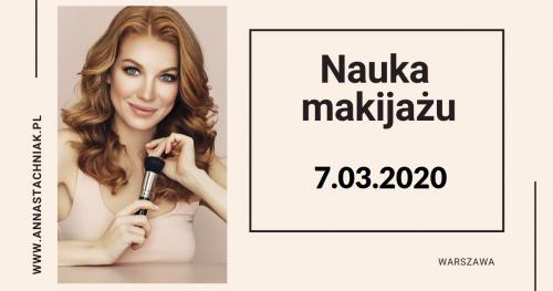 Nauka makijażu - lekcja grupowa 07.03.2020