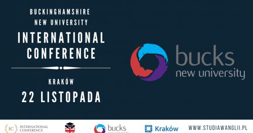 Buckinghamshire New University International Conference 22.11.2019 Kraków