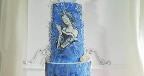 Szkolenie z zakresu malowania tortów kremem Edycja Świąteczna