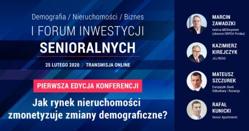 I Forum Inwestycji Senioralnych (konferencja on-line)