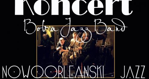 Koncert Boba Jazz Band w Dworze Sieraków****