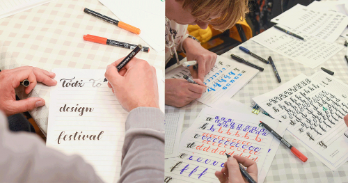 DYSONANSE ŁDZ: Warsztaty Brush lettering od podstaw, 15:00-17:00