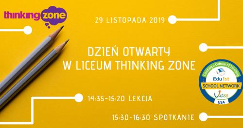 Dzień Otwarty w Liceum Thinking Zone!