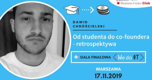 Od studenta do co-foundera - Finał We do IT!
