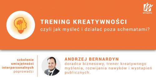 Witalni.pl - Trening Kreatywności, czyli jak myśleć i działać poza schematami?