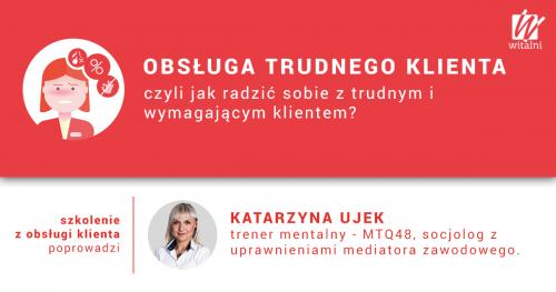 Witalni.pl - Obsługa Trudnego Klienta, czyli jak radzić sobie z trudnym i wymagającym klientem?