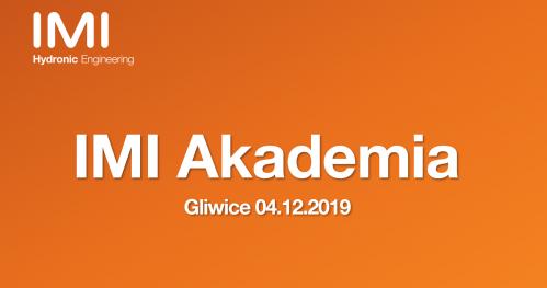 IMI Akademia, czyli HVAC w praktyce - Gliwice 04.12.2019