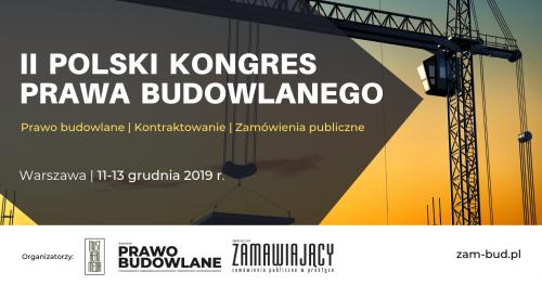 II Polski Kongres Prawa Budowlanego