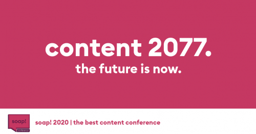 soap! 2020 | the best content conference