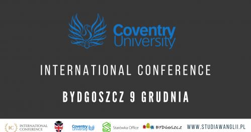 Coventry University International Conference 9.12.2019 Bydgoszcz