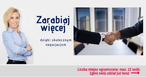 Sztuka negocjacji - Szkolenie Toruń