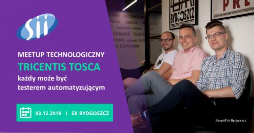Meetup: Tricentis tosca - każdy może być testerem automatyzującym
