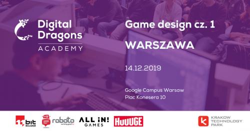 Game Design  [WARSZAWA]
