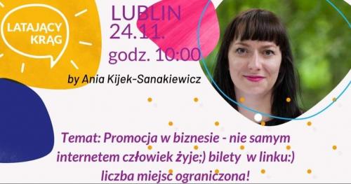 Latający Krąg by Ania Kijek-Sanakiewicz Lublin 24.11.19