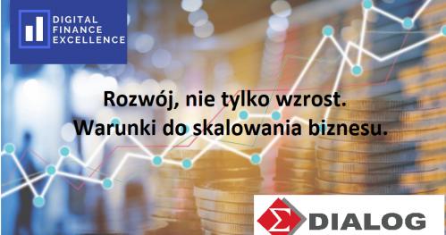 Rozwój, nie tylko wzrost. Warunki do skalowania biznesu. DFE Gdańsk