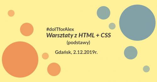 Warsztaty HTML5&CSS3 dla Alexa!