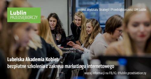 Lubelska Akademia Kobiet - darmowe szkolenie z social media