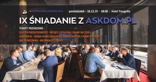 IX Śniadanie z Askdom.pl