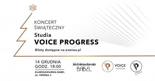 Koncert Świąteczny Voice Progress