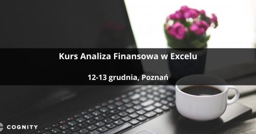 Kurs Analiza Finansowa w Excelu - Poznań