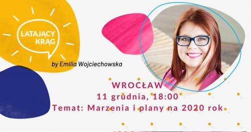 Latający Krąg by Emilia Wojciechowska Wrocław - grudzień