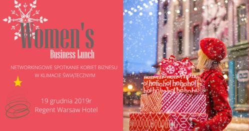 Świąteczny Women's Business Lunch