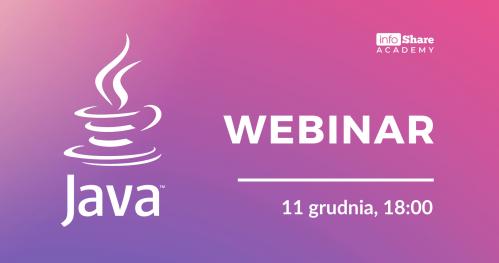 Java: dyskusja i live coding | premiera video