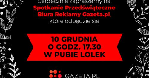 Spotkanie Przedświąteczne Biura Reklamy Gazeta.pl