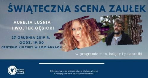Aurelia Luśnia i Wojtek Gęsicki // Scena Zaułek