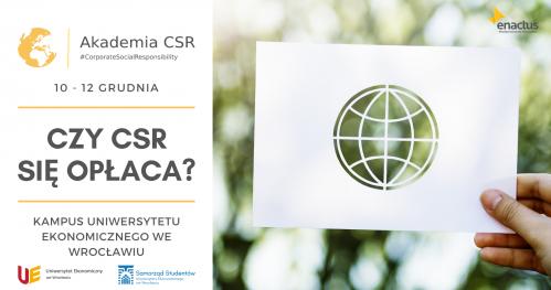 Czy CSR sięopłaca? Obliczymy to na wydarzeniu! Akademia CSR