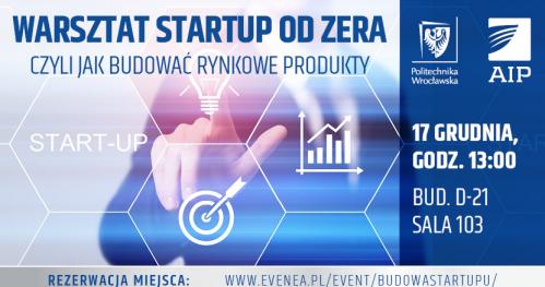 Startup od zera czyli jak budować rynkowe produkty