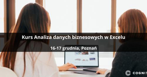 Kurs Analiza danych biznesowych w Excelu - Poznań