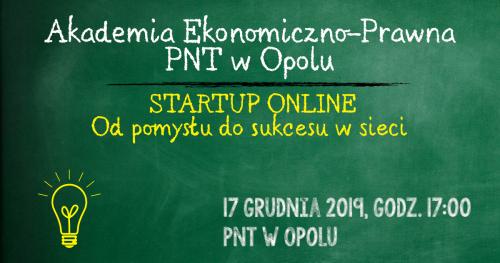 STARTUP ONLINE: od pomysłu do sukcesu w sieci