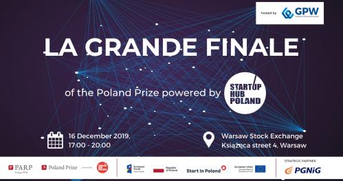 La Grande Finale of Startup Hub: Poland Prize