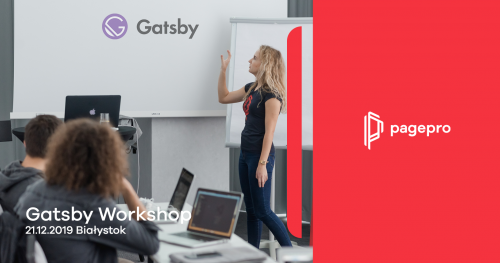 Gatsby Workshop By Pagepro