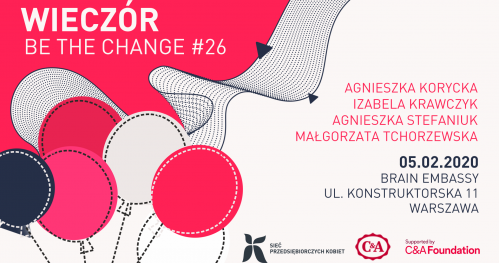 Wieczór Be the Change #26