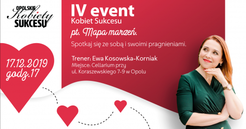 "IV Event Kobiet Sukcesu pt."" Mapa Marzeń""."