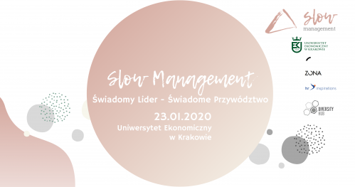 SLOW MANAGEMENT - konferencja