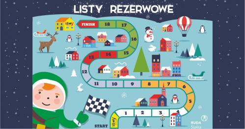 LISTA REZERWOWA - ZIMOWA GRA - ZAPISY NA PÓŁKOLONIE 2020