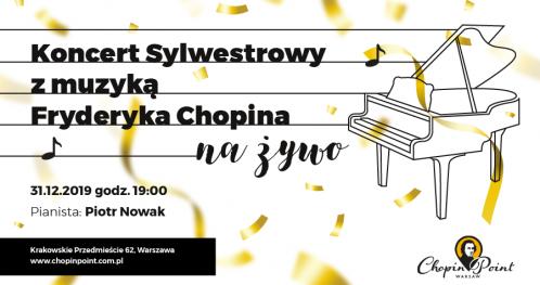 Sylwestrowy koncert Chopinowski w blasku świec w Chopin Point Warsaw