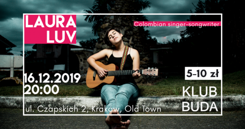 Laura Luv live @Klub Buda