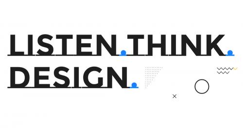 Szkolenie Design Thinking: Listen. Think. Design.