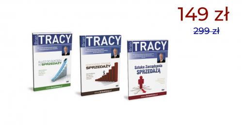 ZŁOTA KOLEKCJA 3 DVD BRIANA TRACY