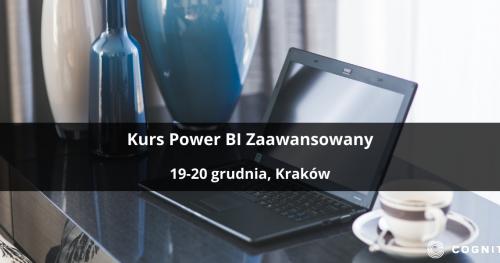 Kurs Power BI Zaawansowany - Kraków