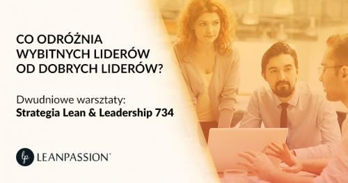 STRATEGIA LEAN & LEADERSHIP 734 | Warsztaty dla kadry zarządzającej