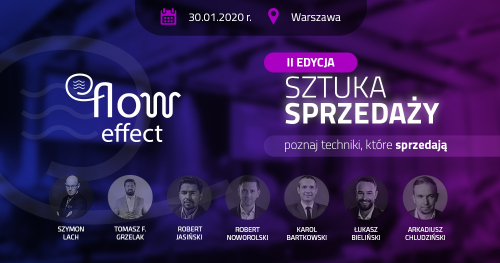 Konferencja Sztuka Sprzedaży II edycja 30.01.2020 Warszawa