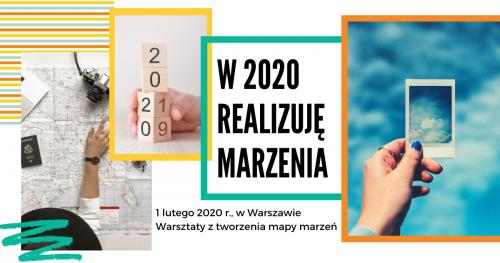 Mapa marzeń - w 2020 działam kreatywnie i skutecznie