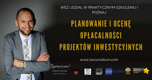 Planowanie i ocena opłacalności projektów inwestycyjnych