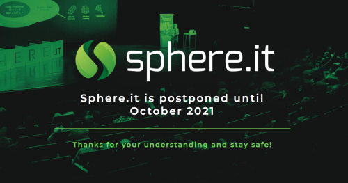 Sphere.it conference 2021