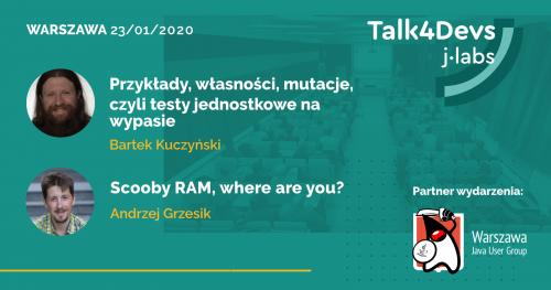 #59 Talk4Devs (dawniej IT Akademia j-labs)